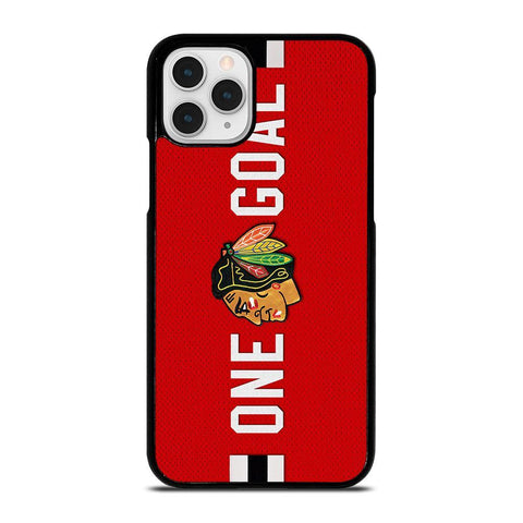 CHICAGO BLACKHAWKS ONE GOAL-iphone-11-pro-case-cover