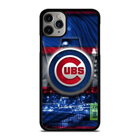CHICAGO CUBS UBS LOGO-iphone-11-pro-max-case-cover