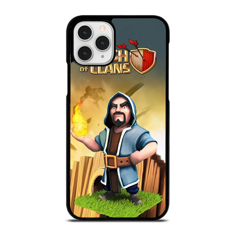CLASH OF CLANS WIZARD-iphone-11-pro-case-cover