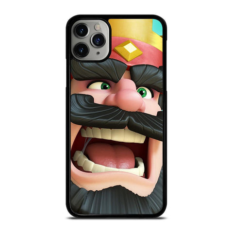 CLASH ROYALE KING-iphone-11-pro-max-case-cover