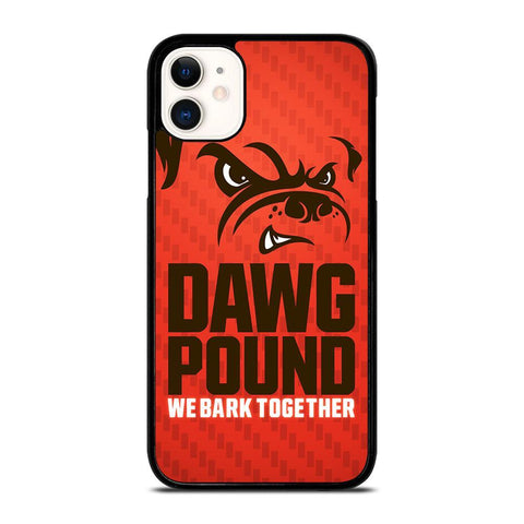 CLEVELAND BROWNS DAWG POUND-iphone-11-case-cover