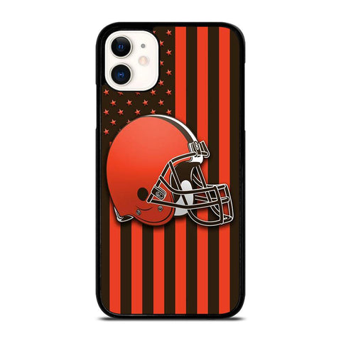 CLEVELAND BROWNS FLAG-iphone-11-case-cover