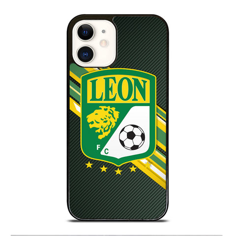 CLUB LEON FOOTBALL iPhone 12 Case Cover