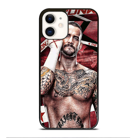 CM PUNK GLOVES iPhone 12 Case Cover