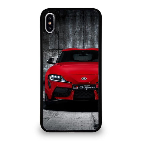 COOL TOYOTA SUPRA-iphone-xs-max-case-cover