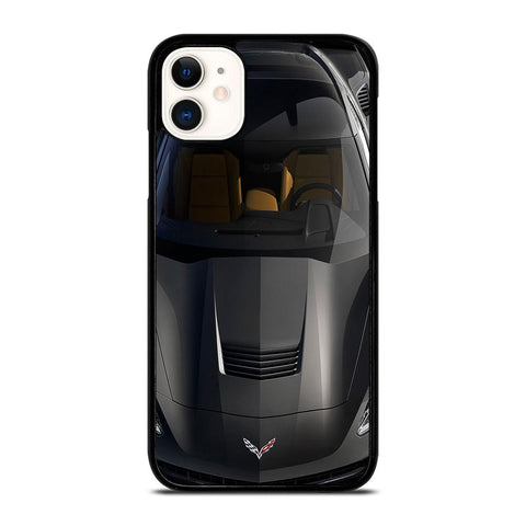 CORVETTE STINGRAY FRONT-iphone-11-case-cover
