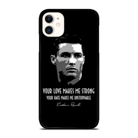 CRISTIANO RONALDO CR7 QUOTE-iphone-11-case-cover