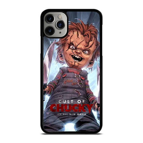 CULT OF CHUCKY DOLL-iphone-11-pro-max-case-cover