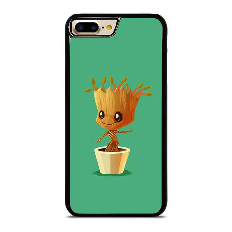 CUTE BABY GROOT IN THE POT-iphone-7-plus-case-cover