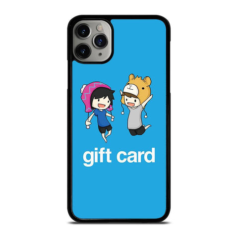 DAN AND PHIL CARTOON-iphone-11-pro-max-case-cover