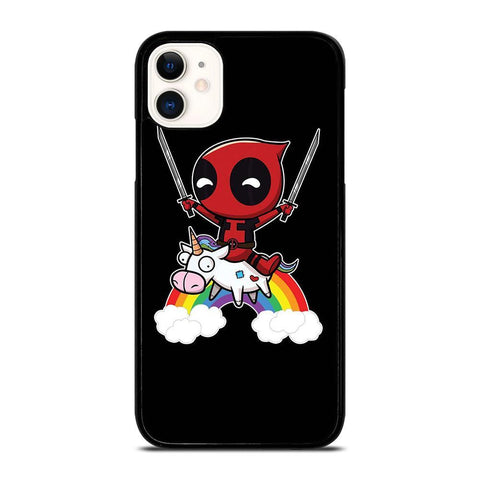 DEADPOOL UNICORN CUTE-iphone-11-case-cover