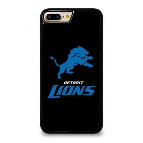 DETROIT LIONS BLACK LOGO iPhone 7 Plus Case Cover