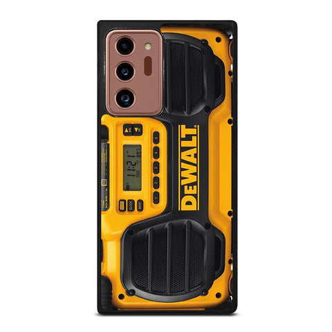 DEWALT JOBSITE RADIO Samsung Galaxy Note 20 Ultra Case Cover