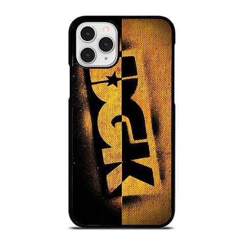 DGK SKATEBOARDING YELLOW LOGO iPhone 11 Pro Case Cover