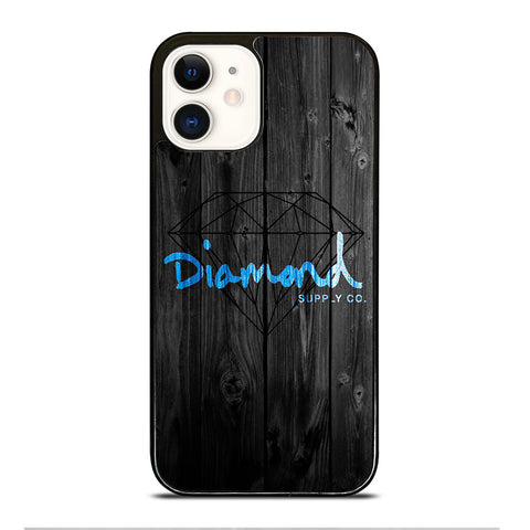 DIAMOND SUPPLY CO WOODEN LOGO iPhone 12 Case Cover