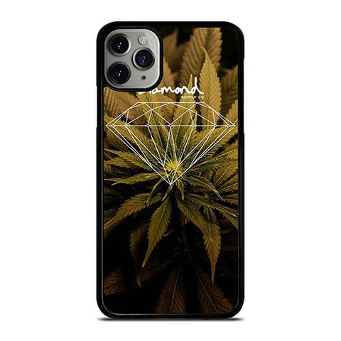 DIAMOND SUPPLY CO MARIJUANA iPhone 11 Pro Max Case Cover
