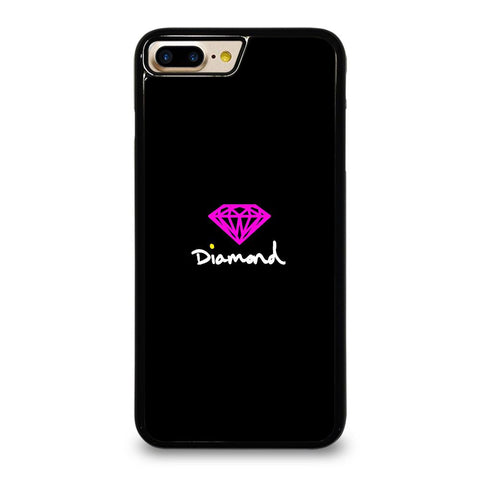 DIAMOND SUPPLY CO PURPLE LOGO iPhone 7 Plus Case Cover