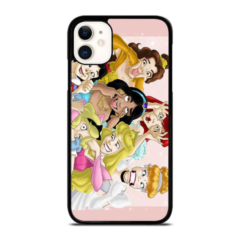 DISNEY PRINCESS FUNNY-iphone-11-case-cover