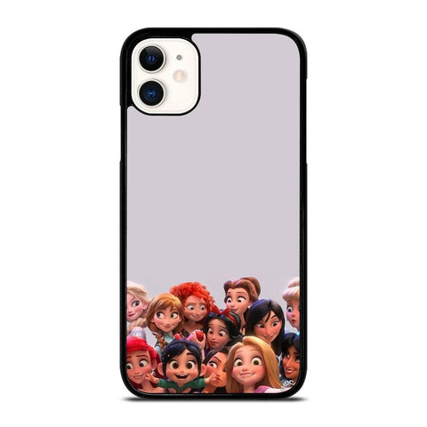 DISNEY PRINCESS WRECK IT RALPH-iphone-11-case-cover