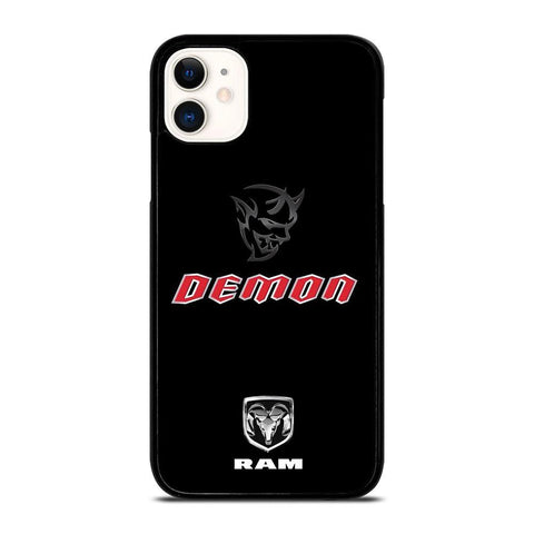 DODGE RAM DEMON LOGO-iphone-11-case-cover