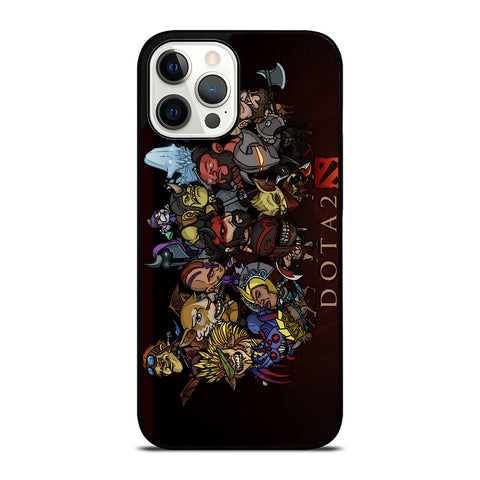 DOTA 2 HEROES CARTOON iPhone 12 Pro Case Cover