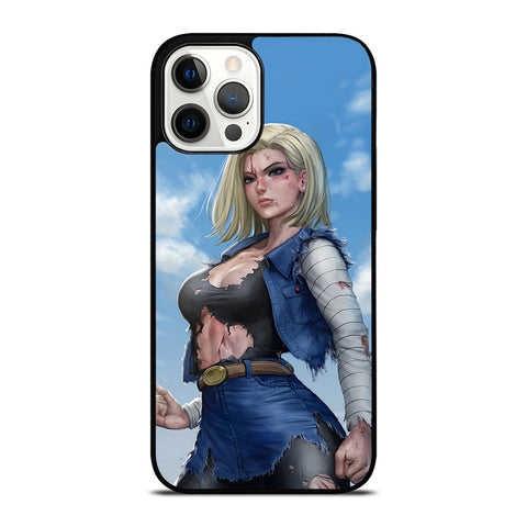 DRAGON BALL ANDROID 18 iPhone 12 Pro Case Cover