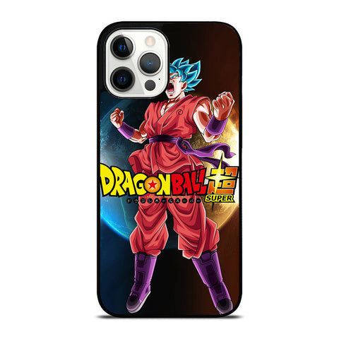 DRAGON BALL GOKU SAIYAN BLUE iPhone 12 Pro Case Cover