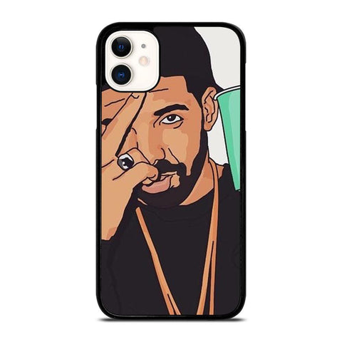 DRAKE ART-iphone-11-case-cover