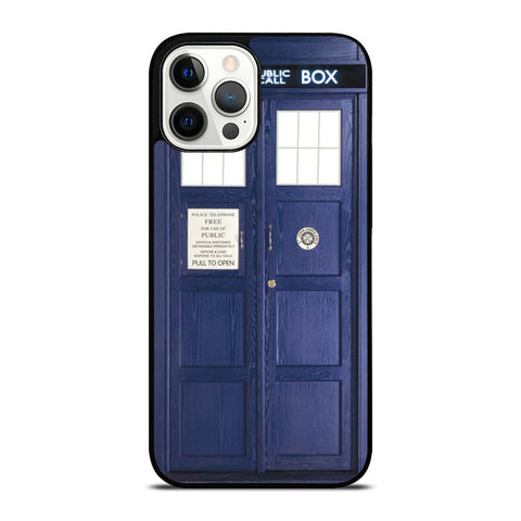 DR WHO TARDIS iPhone 12 Pro Case Cover