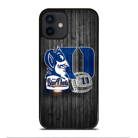 DUKE BLUE DEVILS SYMBOL iPhone 12 Mini Case Cover