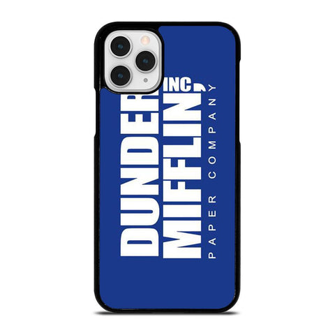 DUNDER MIFFLIN LOGO-iphone-11-pro-case-cover