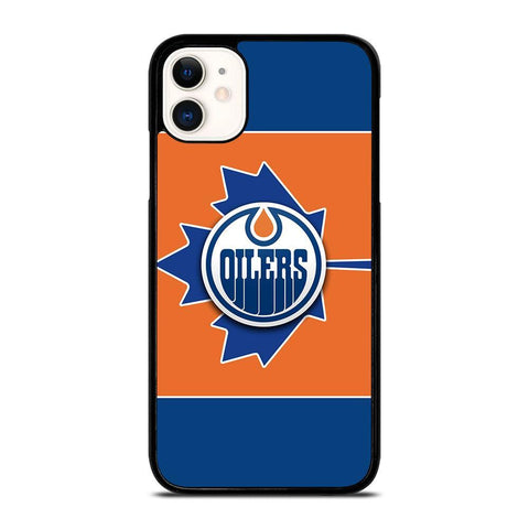 EDMONTON OILERS LOGO-iphone-11-case-cover