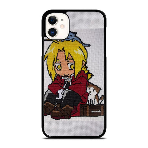 EDWARD ELRIC FULLMETAL ALCHEMIST-iphone-11-case-cover