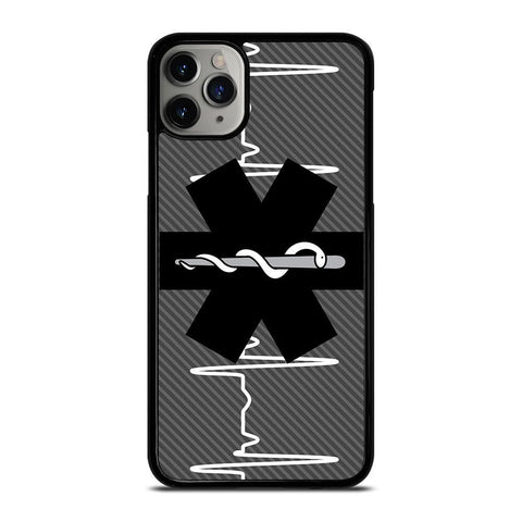 EMT EMS MEDICAL ICON Black-iphone-11-pro-max-case-cover