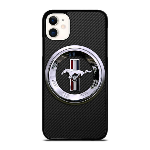 FORD MUSTANG LOGO-iphone-11-case-cover