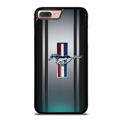 FORD MUSTANG PLATE LOGO-iphone-8-plus-case-cover