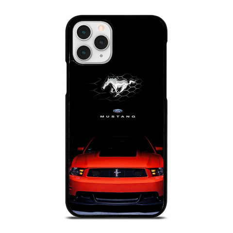 FORD MUSTANG RED-iphone-11-pro-case-cover