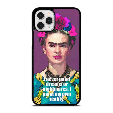 FRIDA KAHLO QUOTES-iphone-11-pro-case-cover