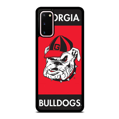 GEORGIA BULLDOGS UGA 3 Samsung Galaxy S20 Case Cover