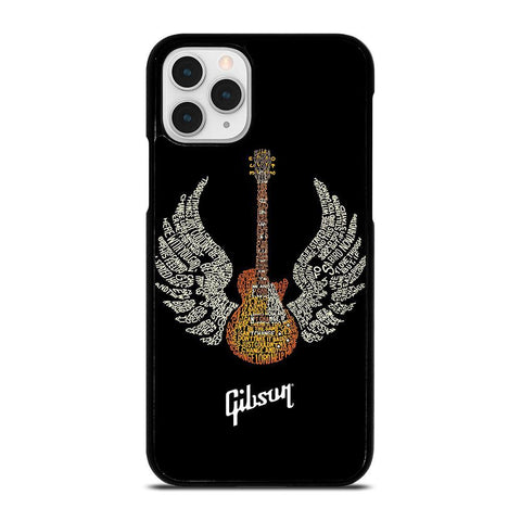 GIBSON GUITAR ART-iphone-11-pro-case-cover
