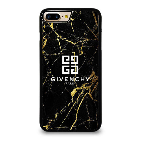 GIVENCHY PARIS GOLD MARBLE iPhone 7 Plus Case Cover