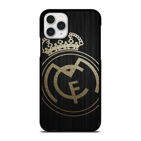 GOLD REAL MADRID LOGO-iphone-11-pro-case-cover
