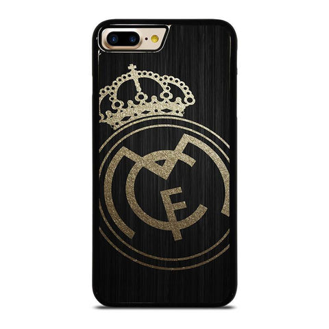 GOLD REAL MADRID LOGO-iphone-7-plus-case-cover