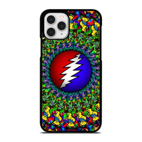 GRATEFUL DEAD DANCING BEARS LOGO-iphone-11-pro-case-cover