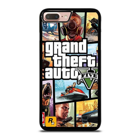 GTA-5-GRAND-TEFT-AUTO--iphone-8-plus-case-cover