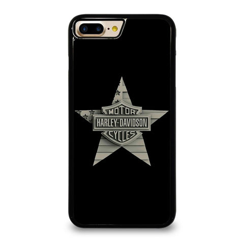 HARLEY DAVIDSON WOODEN STAR LOGO iPhone 7 Plus Case Cover