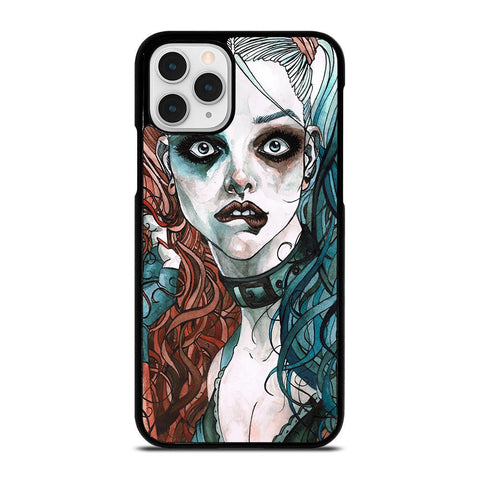HARLEY QUINN ART-iphone-11-pro-case-cover