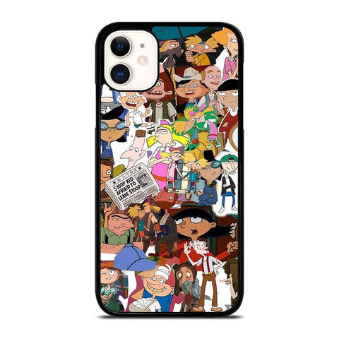 HEY ARNOLD collage-iphone-11-case-cover