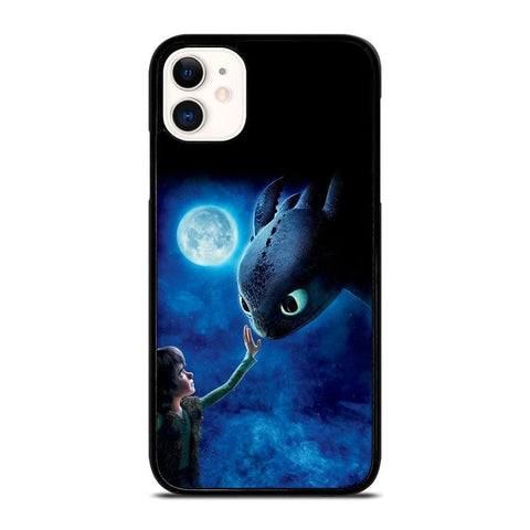 HICCUP AND TOOTHLESS DRAGON-iphone-11-case-cover