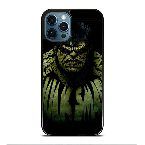 INCREDIBLE HULK QUOTE iPhone Case Cover